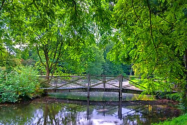 Latice Bridge by Trevor Kersley