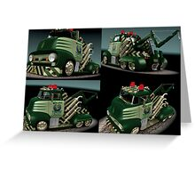 Get That Toad! 1956 Ford F500 tow truck Greeting Card