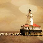 Breakwater Light by Timothy Gass