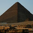 Pyramid of Khufu by warriorprincess