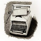 Old Typewriter by Quilm