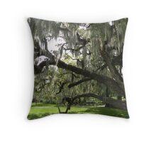 Live Oaks, City Park, New Orleans Throw Pillow