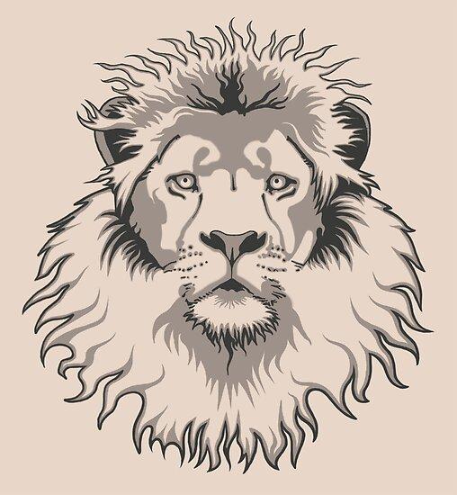 Lion Head by Rustyoldtown