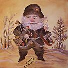 VINTAGE RETRO NAST SANTA CLAUS by LJonesGalleries