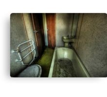 Bathroom, barely. Canvas Print