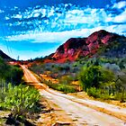 Desertscape #3 by John Corney