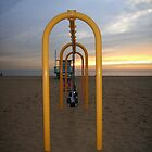3 Swings at Sunset by Walt Conklin