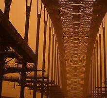 Dusty Harbour Bridge by Kyle Parker