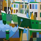 HOBART FERRIES 1931 by Thomas Andersen