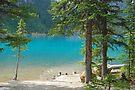 Magic on Moraine Lake #7  Calendar Series   by Barbara Burkhardt