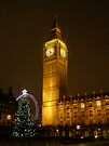 Big Ben ticks Goodnight by Mui-Ling Teh