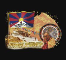 Free Tibet by aura2000