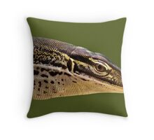 Papuan Sand Monitor Throw Pillow