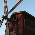 The Red Windmill by linderel