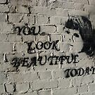 You look beautiful today by sarahtoure