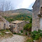 Old Perithia, Corfu by Sheila Laurens