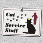 Cat Service Staff by aura2000