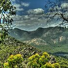 Rugged Mountain Ranges - The Grampians - The HDR Experience by Philip Johnson