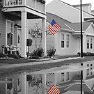 Patriotic Reflection by Sara Wood