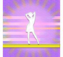 Disco Girl Photographic Print