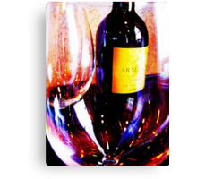 Wine Bar Canvas Print