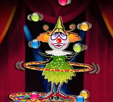 The Fleas Circus - THE CLOWN by Kartoon