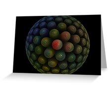 discoball Greeting Card