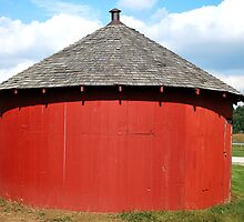Baby Round Barn. by Judy Seltenright