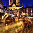 Lincoln Christmas Market by Chris Tait