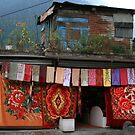 A Handloom Shop in Manali by Vivek Bakshi