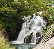Welsh Waterfall 2 by SAngell