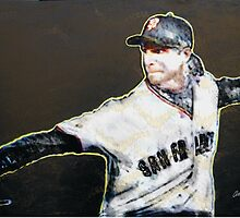 "sf Giants Big Unit Randy Johnson ""Beyond Electrifying #1"" by barcha"