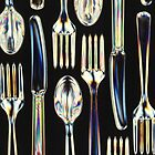 Fantastic Plastic: I am all Knives, Forks and Spoons by taiche