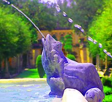 Frog Fountain by GolemAura
