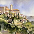 Afternoon Sun Tuscany by artbyrachel