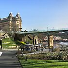 Spa Bridge, Scarborough by neilk