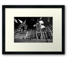 Manchester Town Hall Framed Print