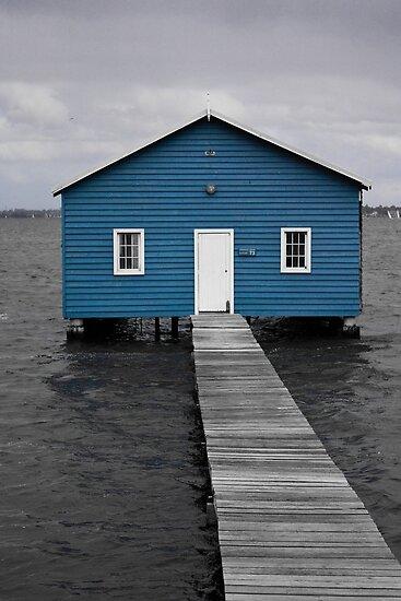 Crawley Boatshed by Karyn Lake