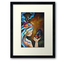Her Dedication to Purpose Framed Print