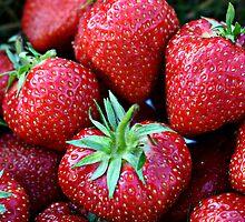 Strawberries by JulieDanielle