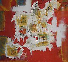 chaos-war=destruction by Sabine Jacobsen [SJArt]