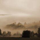 Misty Landscape by Rosy Kueng