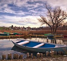 Lakeside Mooring by Kasia-D