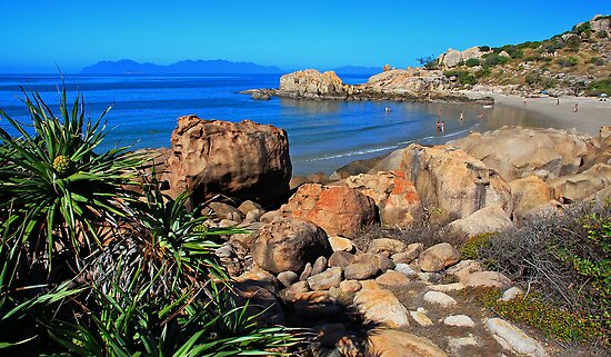 Horseshoe Bay Bowen Queensland Australia by Janette Rodgers
