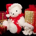 Santa Teddy by Trudy Wilkerson