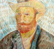 my childs artwork - van gogh by frenchblue
