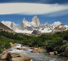 Monte Fitz Roy - Fitz Roy National Park - Argentina by Craig Baron