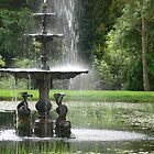 A country fountain by PhotosByG