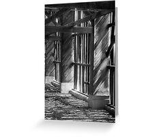 The Empty Barn Greeting Card