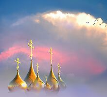 Christian Domes by Igor Zenin